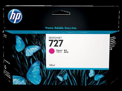 HP No. 727 130ml Magenta Ink Cartridge (B3P20A)