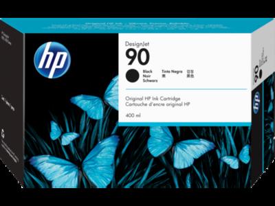HP No. 90 Black Ink Cartridge (400 ml)  (C5058A)