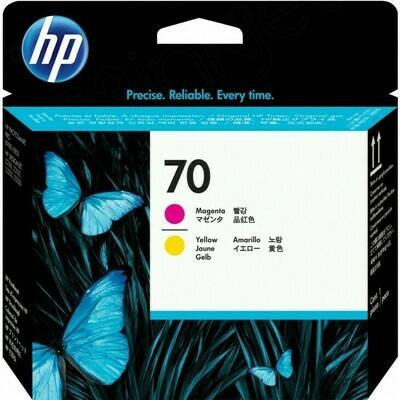 HP 70 Printhead Magenta and Yellow (C9406A)