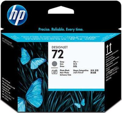 HP No. 72 Grey and Photo Black Printhead (C9380A)