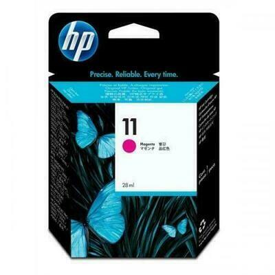 HP No. 11 Print Cartridge 28ml Magenta  (C4837AE)