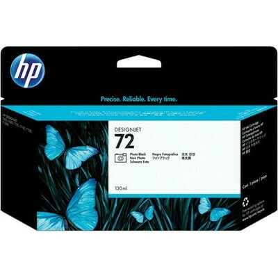 HP No. 72 130 ml Photo Black Ink Cartridge (C9370A)