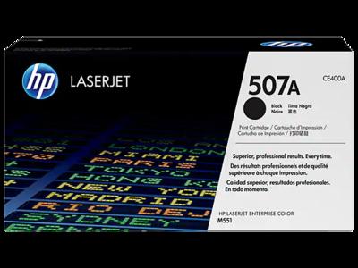 HP 507A  Black Original Laserjet Toner Cartridge (5500 pages) (CE400A) (CE400A)