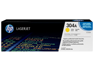 HP COLOR LASERJET CP2025 YELLOW CARTRIDGE PRINTS APPROXIMATELY  2800 PAGES USING THE ISO/IEC 19798 YIELD STANDARD. PRINTS APPROXIMATELY 2 800 PAGES USING  THE ISO/IEC 19798 YIELD STANDARD.
