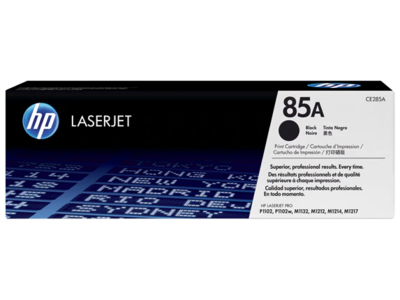 HP LASERJET P1102/P1102W PRINT CARTRIDGE HP STANDARD CAPACITY PRINT CARTRIDGE WITH SMART PRINTING TECHNOLOGY. 1600 PAGES @ 5%