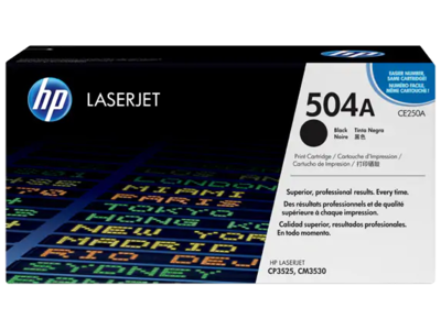 HP CP3525/CM3530 MFP BLACK 5K PRINT CARTRIDGEE CONTAINS 1 HP LASERJET CP3525/CM3530 MFP STANDARD CAPACITY BLACK CARTRIDGE PRINTS APPROXIMATELY 5 000 PAGES USING ISO/IEC 19798 YIELD STANDARD