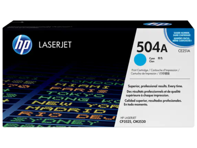 HP CP3525/CM3530 MFP CYAN PRINT CARTRIDGE CONTAINS 1 HP LASERJET CP3525/CM3530 MFP STANDARD CAPACITY CYAN CARTRIDGE PRINTS APPROXIMATELY 7 000 PAGES USING ISO/IEC 19798 YIELD STANDARD