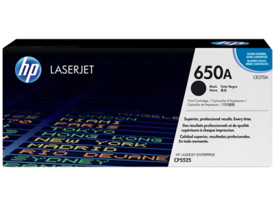 HP CE270A-HP COLOR LASERJET CP5525 BLACK CARTRIDGE WITH COLORSPHERE TECHNOLOGY