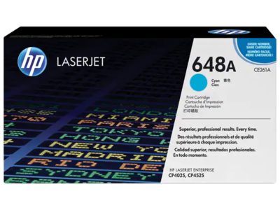 HP CLJ CP4525/CP4025 CYAN PRINT CARTRIDGE PRINTS APPROXIMATELY 11 000 PAGES USING  THE ISO/IEC 19798 YIELD STANDARD.