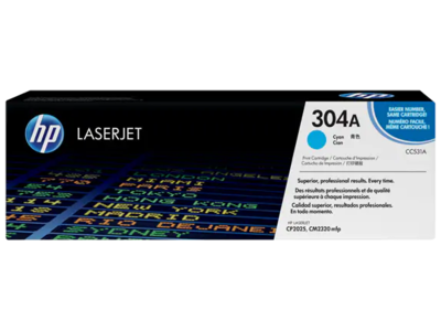 HP COLOR LASERJET CP2025 CYAN CARTRIDGE PRINTS APPROXIMATELY  2800 PAGES USING THE ISO/IEC 19798 YIELD STANDARD.PRINTS APPROXIMATELY 2 800 PAGES USING  THE ISO/IEC 19798 YIELD STANDARD.