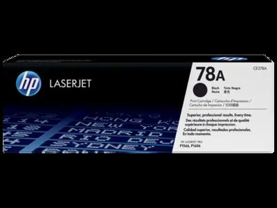 HP LASERJET P1566/P1606 BLACK PRINT CARTRIDGE HP STANDARD CAPACITY PRINT CARTRIDGE WITH SMART PRINTING TECHNOLOGY. 2100 PAGES @ 5%
