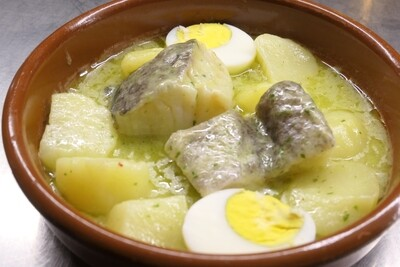 Bacalao en salsa verde / Bakailua saltsa berdean