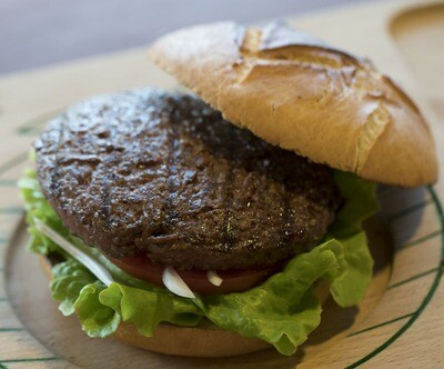 Txikiburger vegetal / begetala