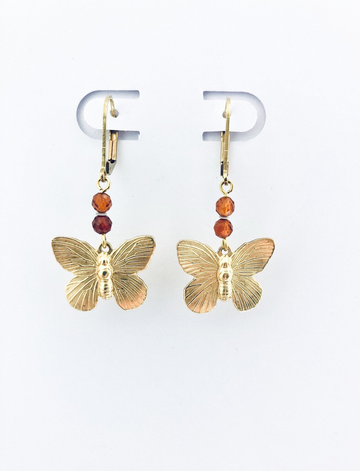 Frida butterfly earrings
