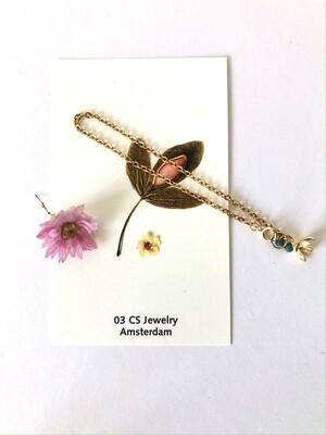 Piccolo flower cup bracelet
