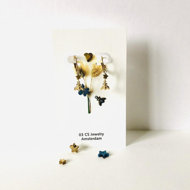 Bee a star earrings
