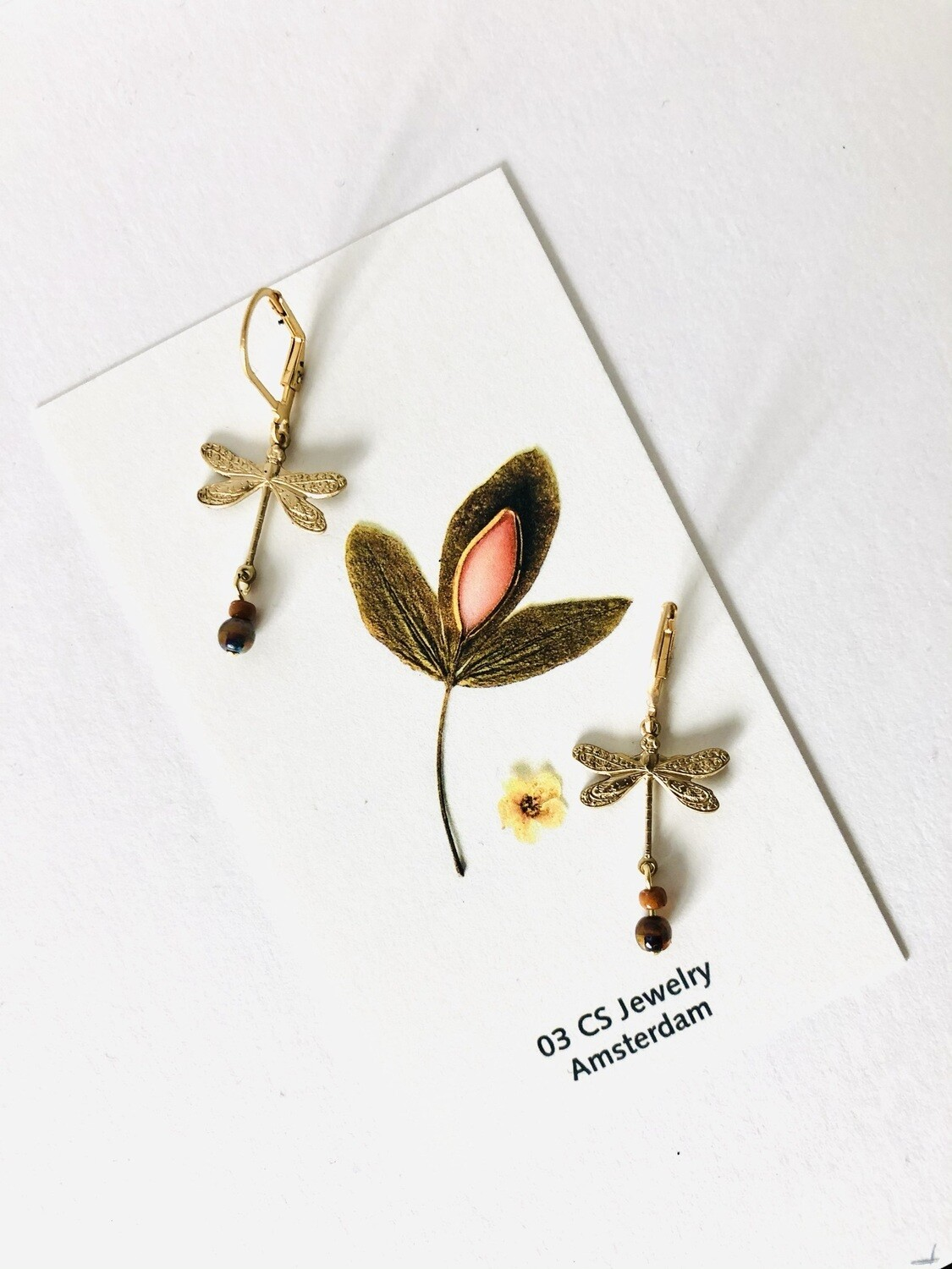 Iseo dragonfly  earrings