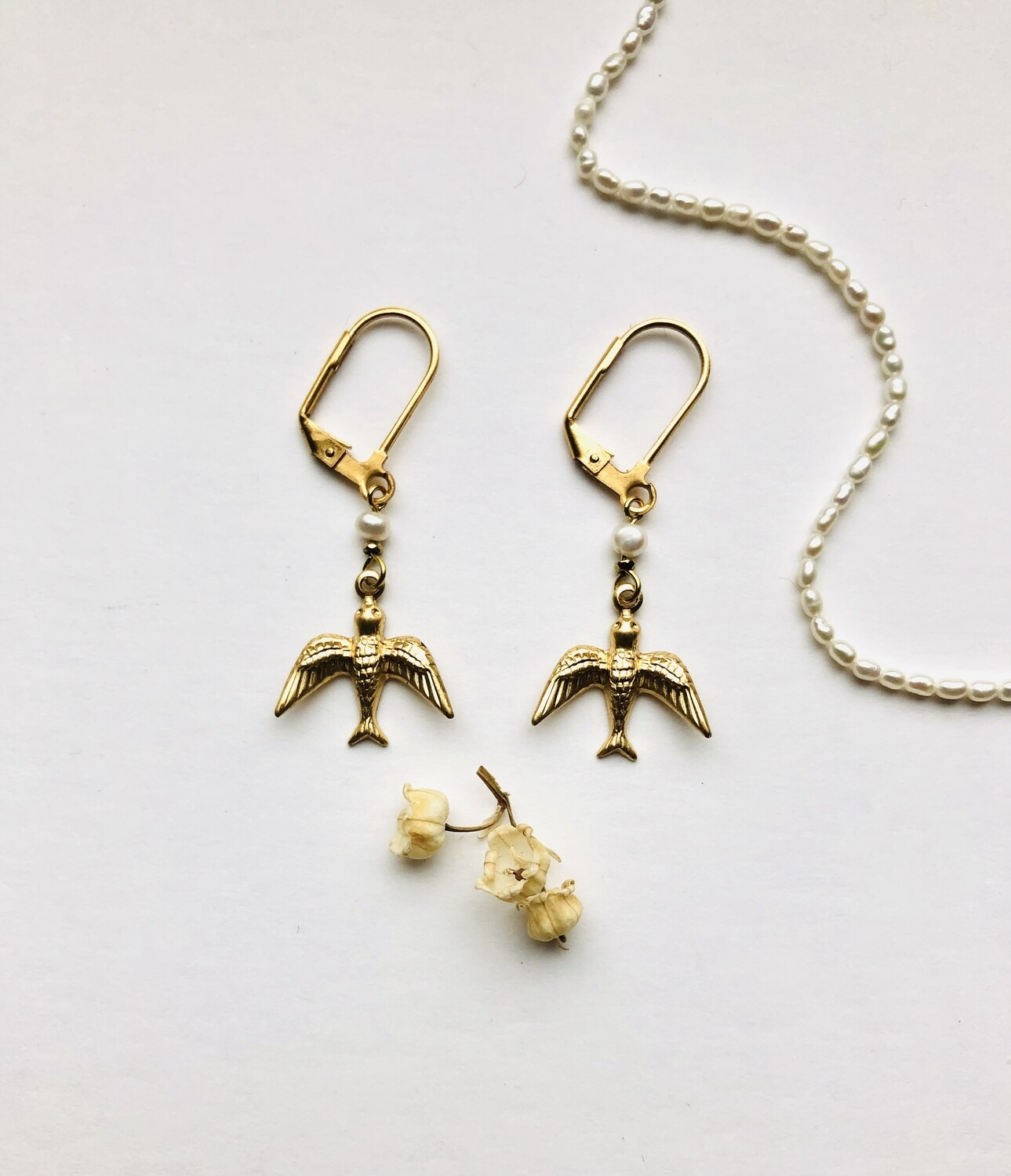 Kahlo birds earrings