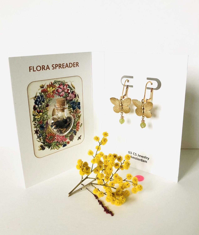 Flora spreader butterflies