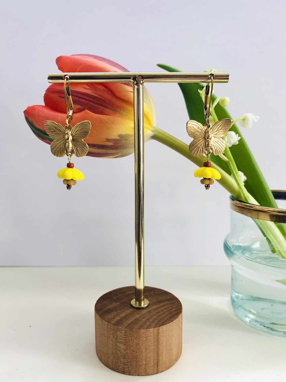 Frida butterfly earrings