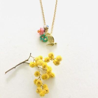 Geluksvogeltje necklace