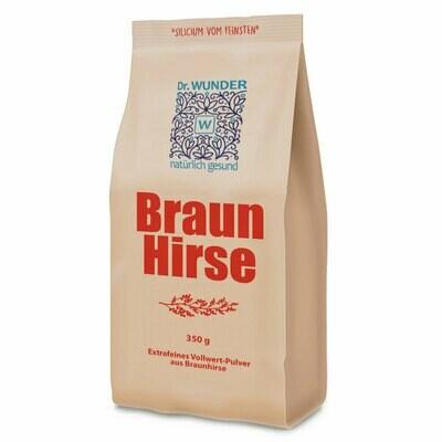 Bio-Braunhirsepulver