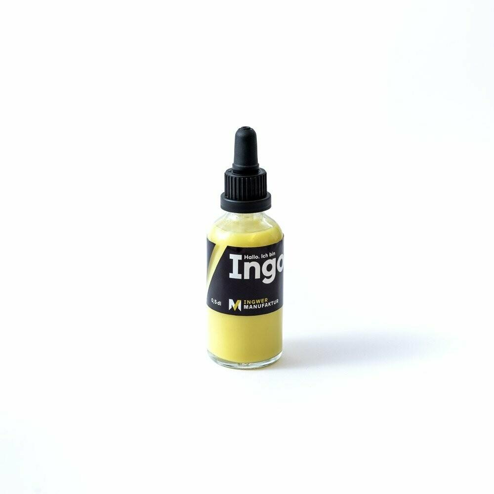 Ingwer Manufaktur Ingo - Ingwerdirektsaft 100% Bio - 0.5dl