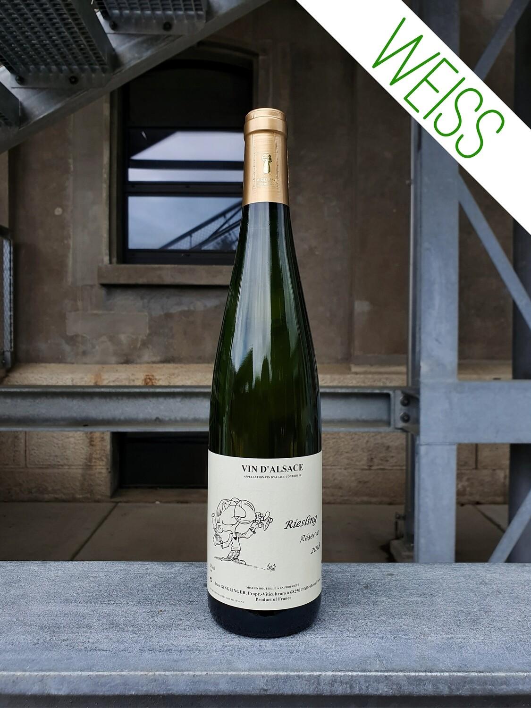 Jean Ginglinger : Riesling Vin d'Alsace AOC 2018