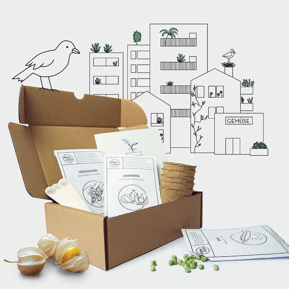Urban Roots - Saatbox für Kinder