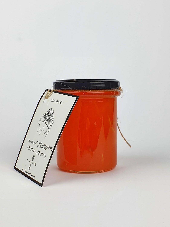 La Fourchette - Kürbis-Organgen-Zitronen-Konfitüre