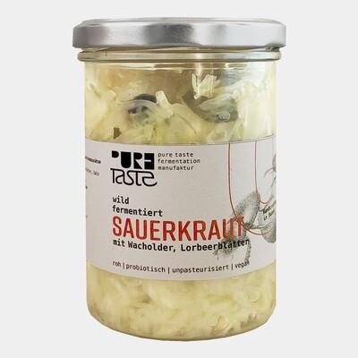 Pure Taste - SAUERKRAUT, wild fermentiert