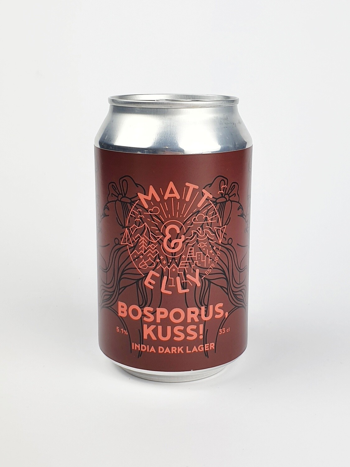MATT & ELLY - BOSBORUS KUSS - India Dark Lager