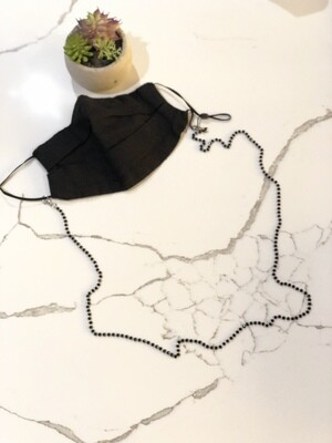 Glass Beads mask Chain