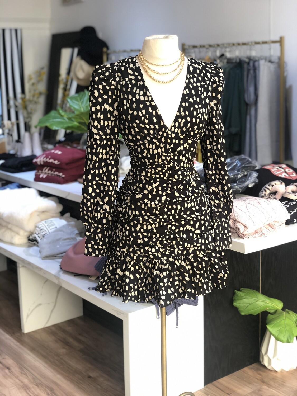 Carina Animal print dress