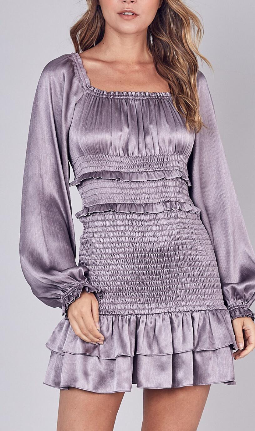 Paola Smocked Dress