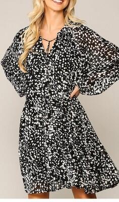 Lluvia Chiffon Dress