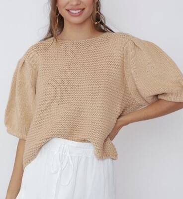 Babydoll Sweater Top