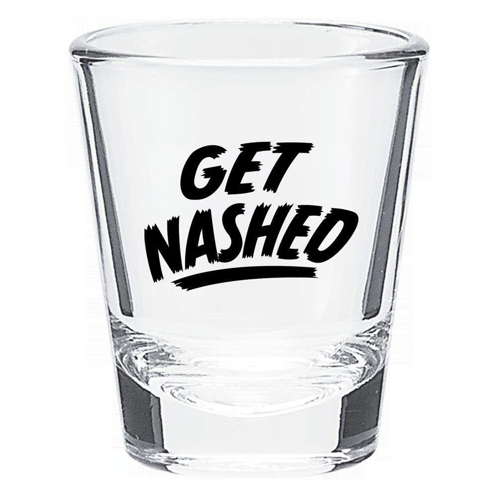 Get Nashed Shot Glass
