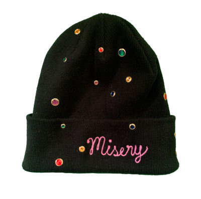Misery Bedazzled Beenie