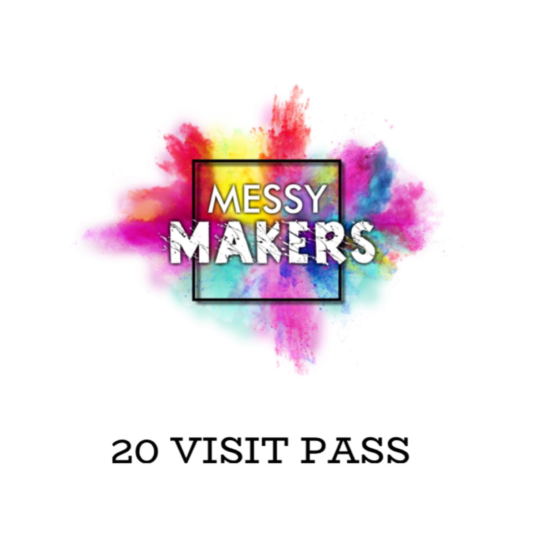 20 Visit Messy Club Pass
