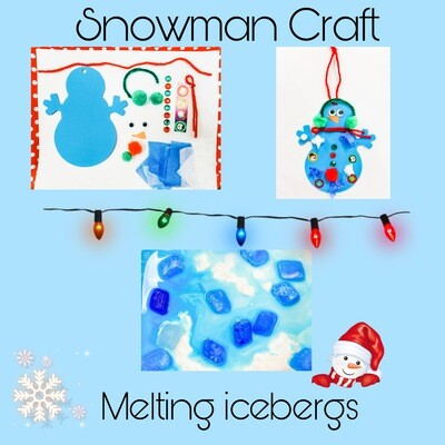 Messy Makers at Home Snowman Kit
