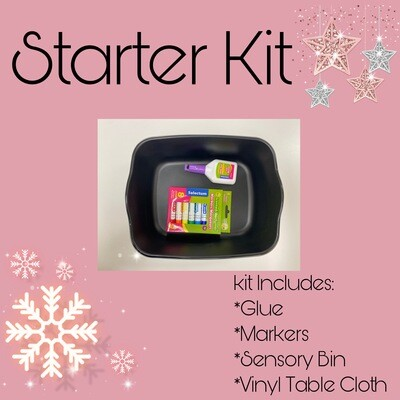 Messy Makers at Home ADD ON Starter Kit