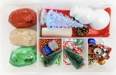 Christmas Time Play Dough Kit