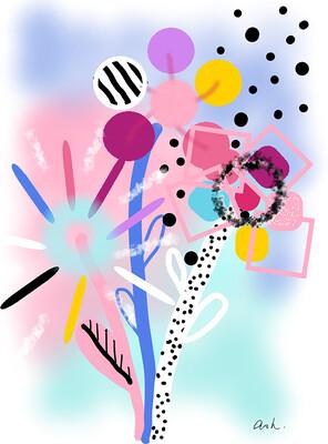 A3 DIGITAL ART PRINT - Very Wonderland