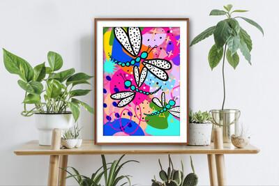 Wonderland Dragonflies