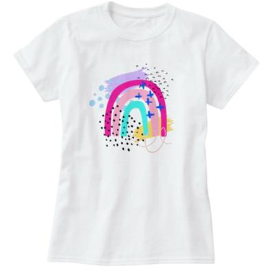 Women's Wonderland Rainbow Tee