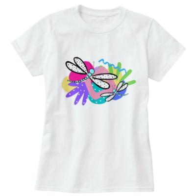 Wonderland Kids Dragonfly Tee