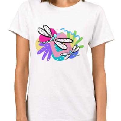 Women's Wonderland Dragonfly Tee