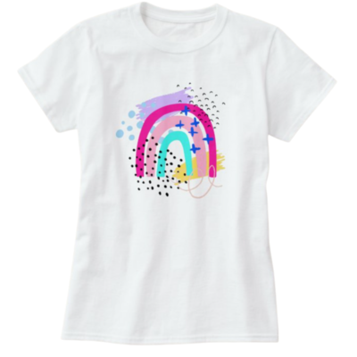 Wonderland Kids Rainbow Tee