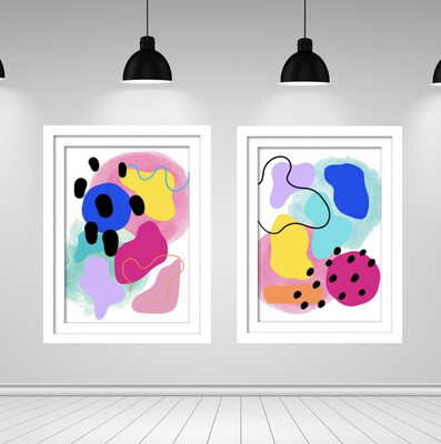 Colour Pop Print Set